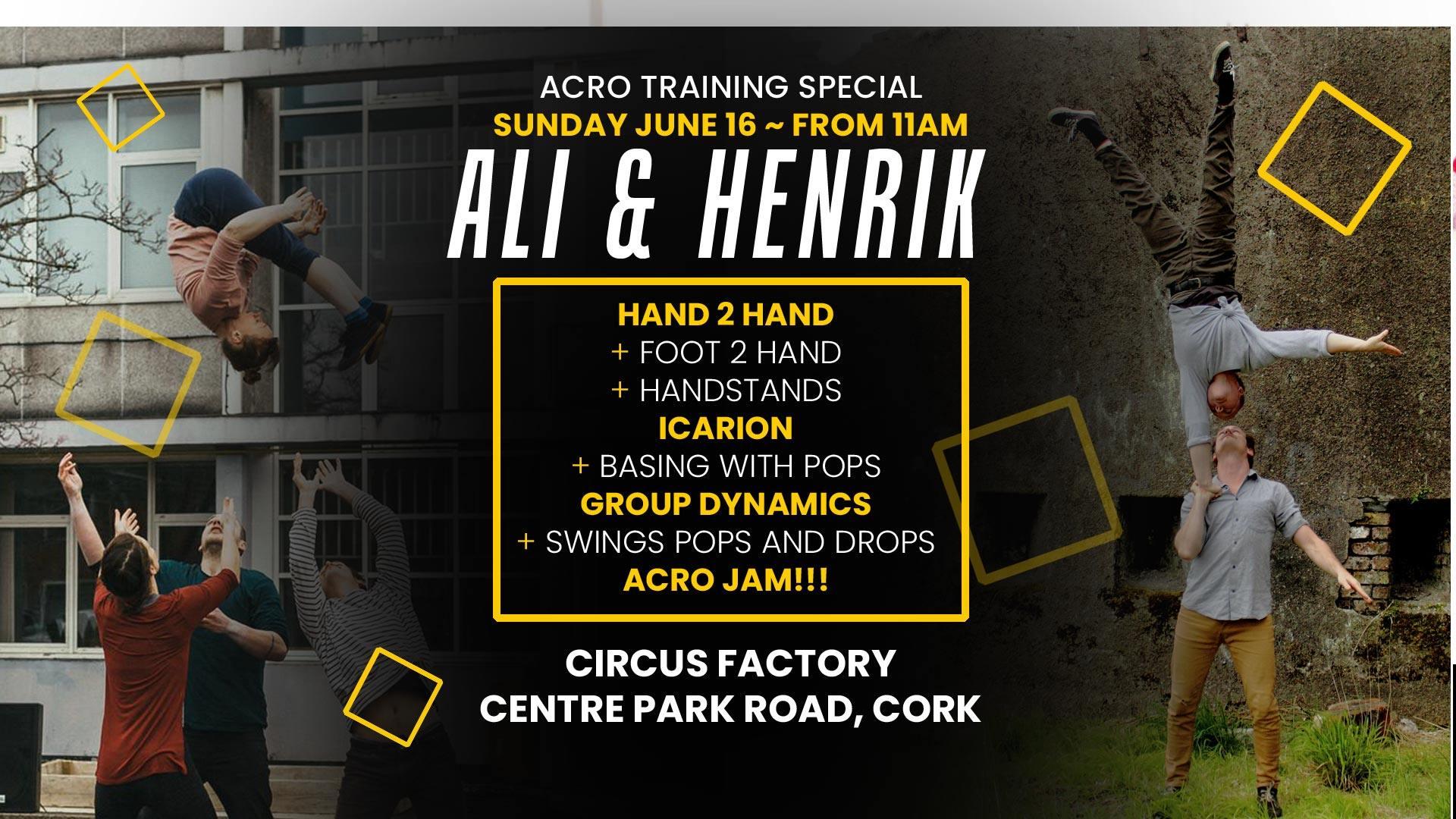 Poster - Ali and Henrik