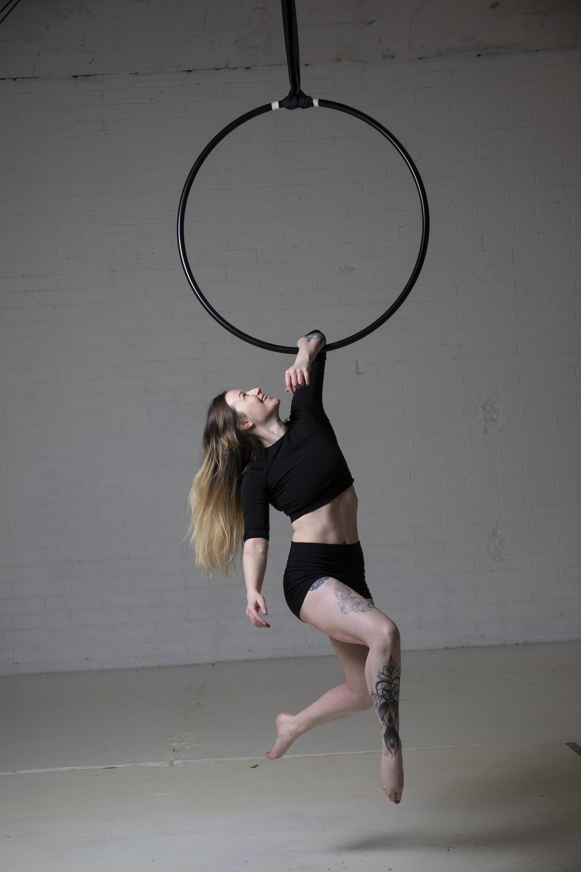 Acrobat on the Ring